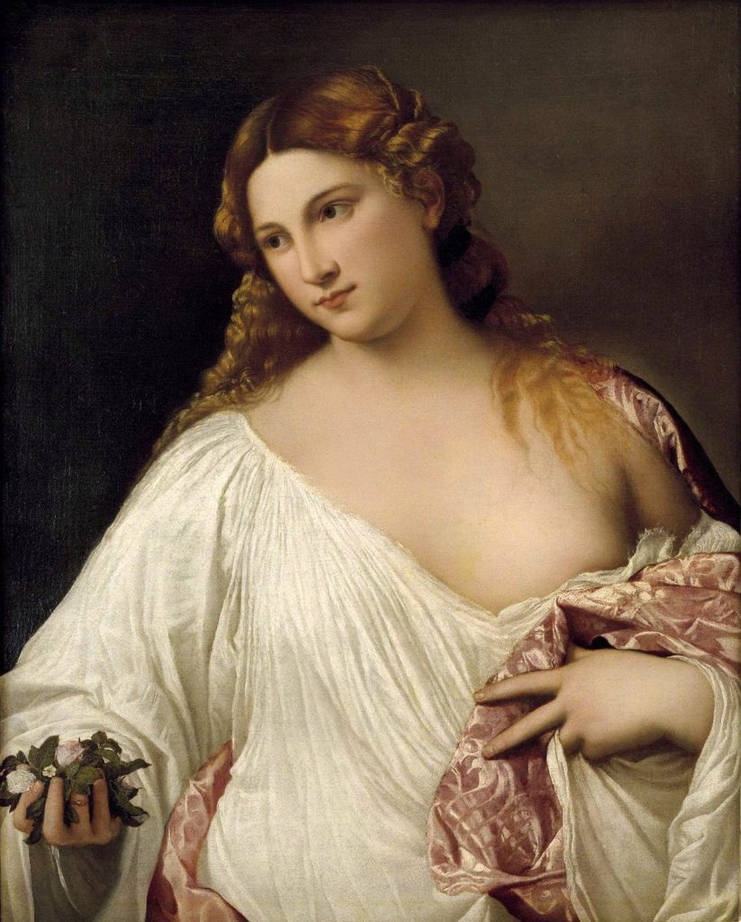 Titian, Flora (c. 1515-1517)