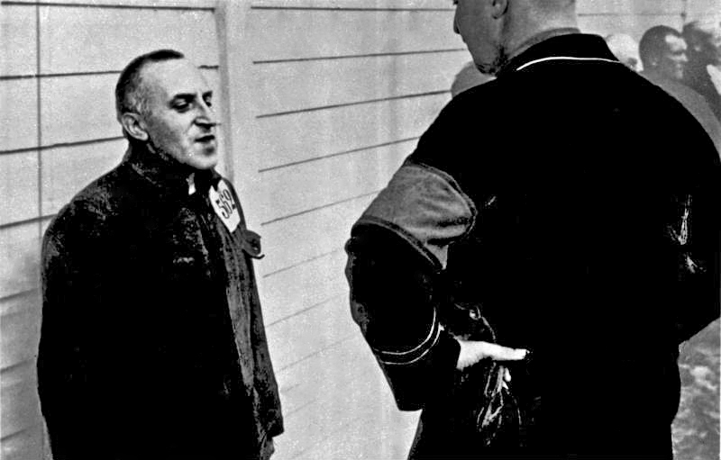 Carl von Ossietzky. Publicist, as a prisoner in a concentration camp Esterwegen