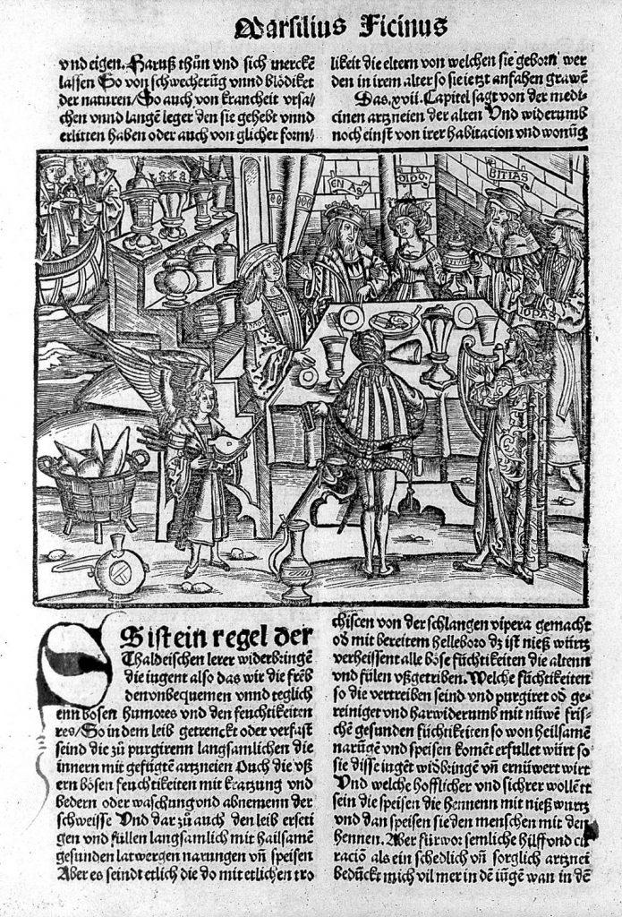 Aeneas at Carthage Rare Books Keywords: Ficinus, Marsilius; Brunschwig, Hieronymus