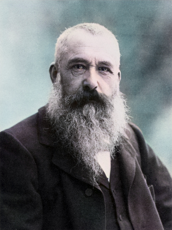 Claude Monet (1840 - 1926) photo by Nadar