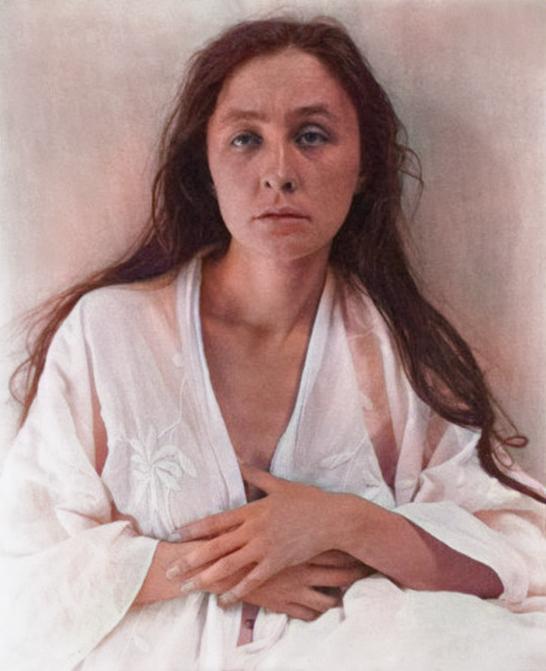 Georgia O'Keeffe (1887-1086), photo by Alfred Stieglitz, 1918