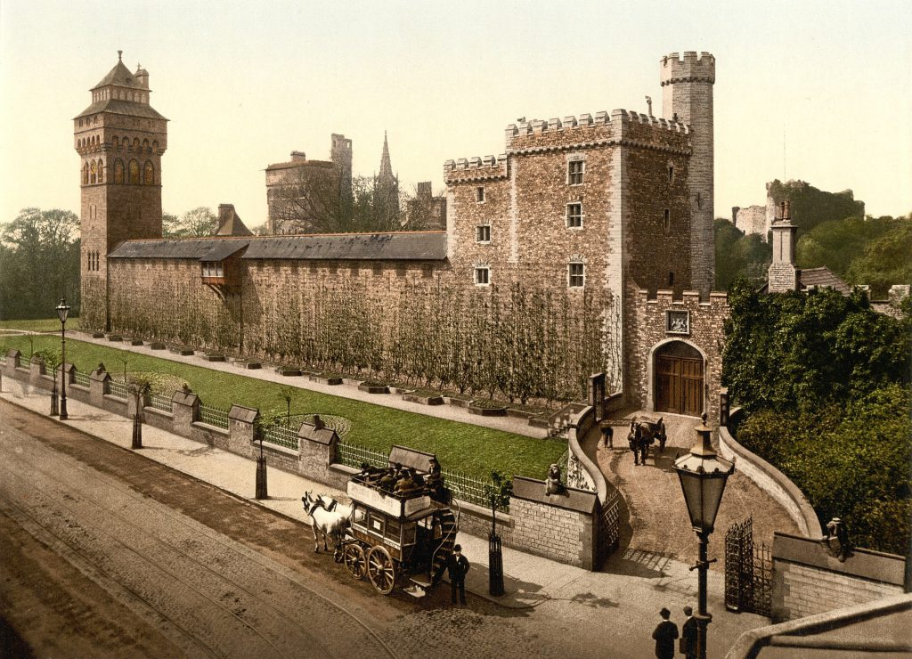 Cardiff Castle in the 1890s