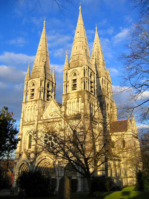 Saint Fin Barre's Cathedral, Cork, Ireland – Burges's first major commission