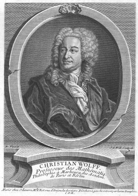 Christian Wolff (24 January 1679 – 9 April 1754)