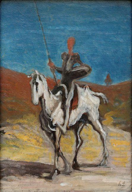 Don Quixote and Sancho Panza, 1868