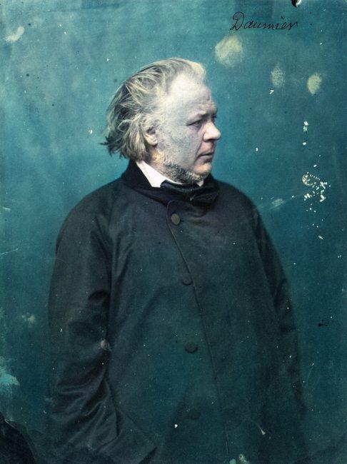 Honoré Daumier (1808 – 1879), photo by Nadar