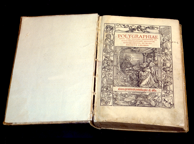 Johannes Trithemius, Polygraphia (1518)