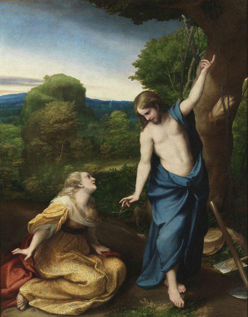 Correggio, Noli me tangere, ca. 1518