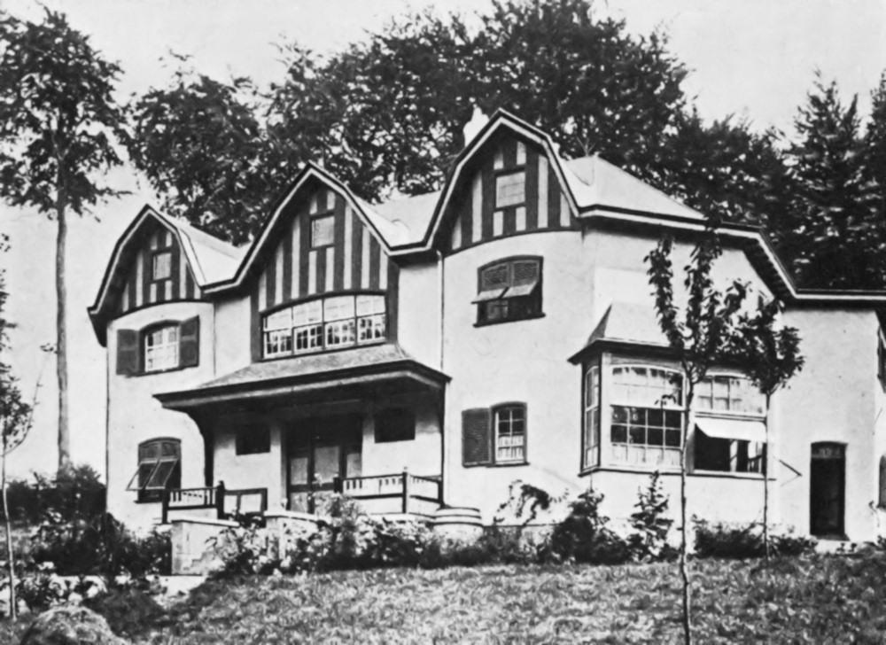 Bloemenwerf house, residence house of Belgian painter, architect and interior designer Henry van de Velde , built in 1895.
