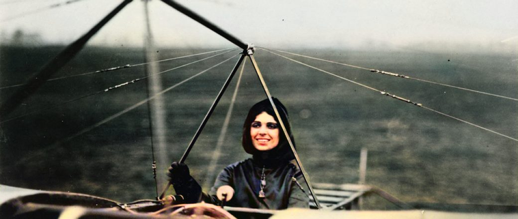 Harriet Quimby – the First Woman to Fly Across the English Channel