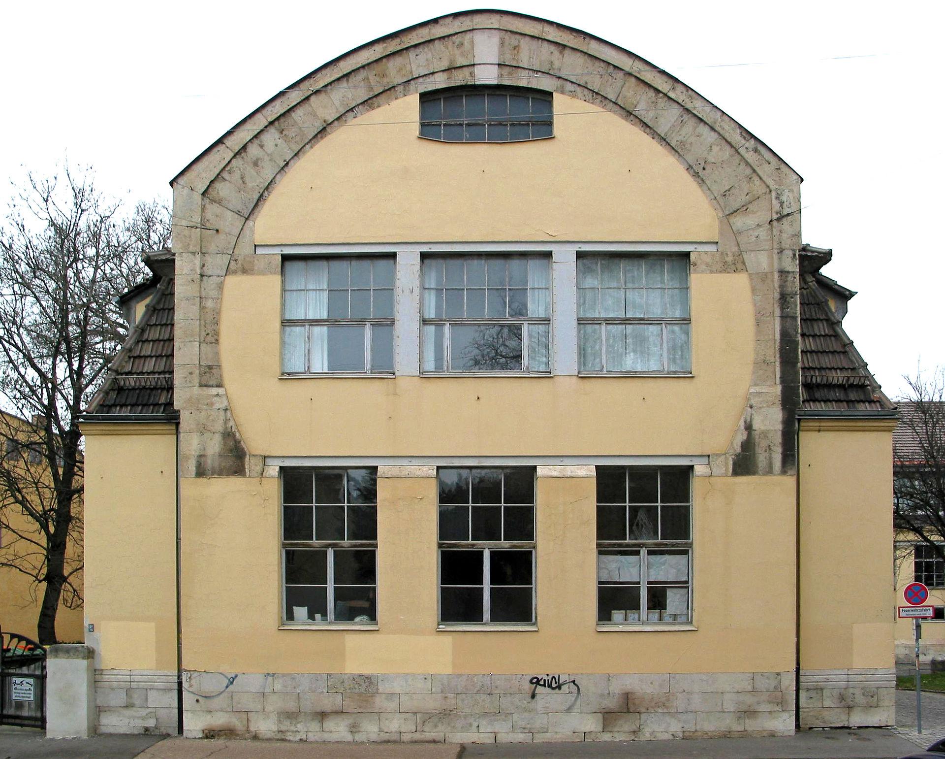 Van-de-Velde-Building in Weimar, home of the art faculty of the Bauhaus-University