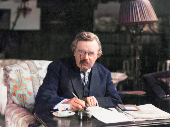 Gilbert Keith Chesterton (29 May 1874 – 14 June 1936)