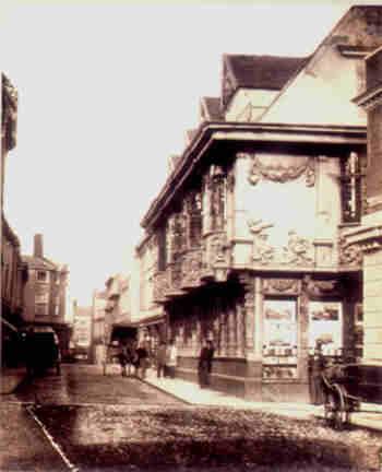 Frederick Scott Archer: Sparrow House, 1857