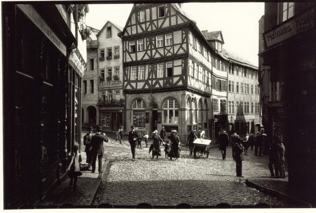 First image taken from the Ur-Leica by Oskar Barnack 1913, Eisenmarkt, Wetzlar, Germany