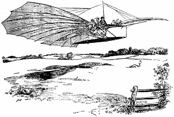 The drawing which accompanied the article on page 5 of 18 August 1901 Bridgeport Herald