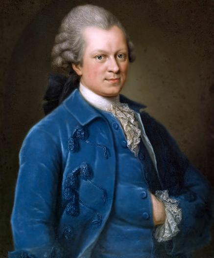 Gotthold Ephraim Lessing (1721 - 1789) Painting by Anna Rosina de Gasc (Lisiewska), 1767/1768, Gleimhaus Halberstadt