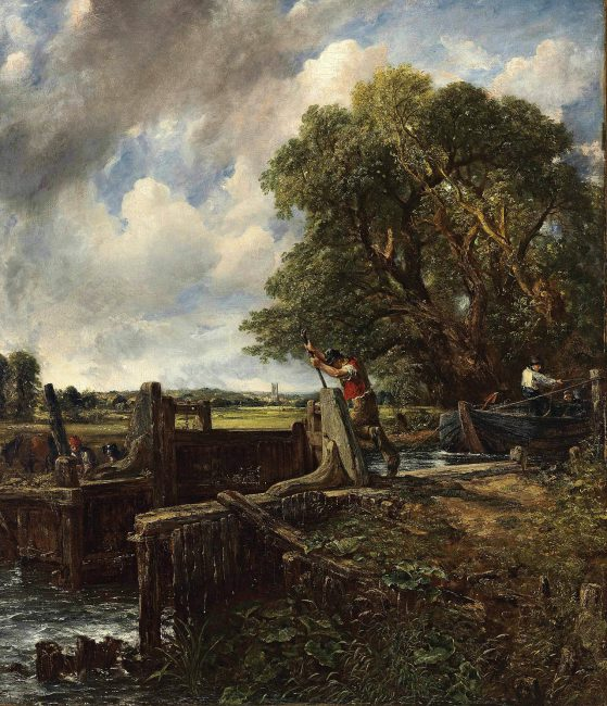 The Lock (1824). Private collection