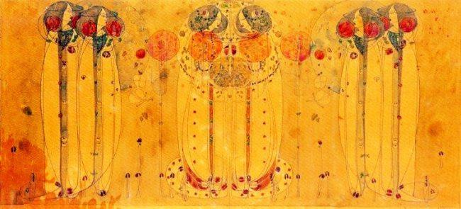 Charles Rennie Mackintosh - The Wassail 1900