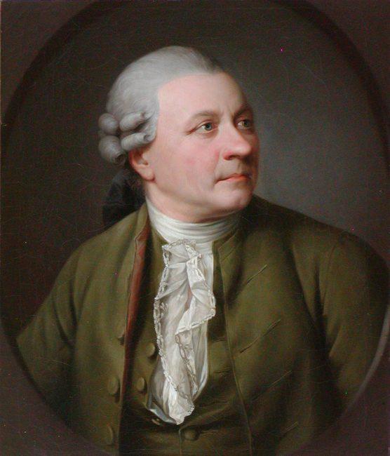 Friedrich Gottlieb Klopstock, painting by Jens Juel, 1779 (Gleimhaus, Halberstadt) [public domain]