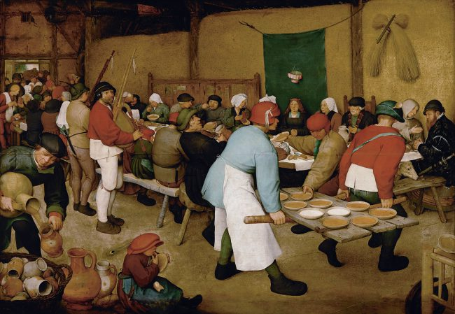 Pieter Brueghel the Elder, The Peasant Wedding (1568)